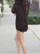 Selena Gomez leggy
