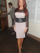 Amy Childs see through