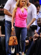 Hayden Panettiere miami heat game