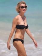 Karen Mulder bikini