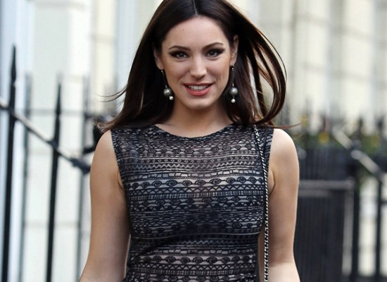 Kelly Brook see thru