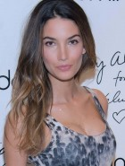 Lily Aldridge tight dress