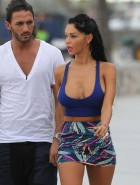 Nabilla Benattia boobs