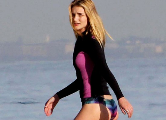Rosie Huntington-Whiteley booty