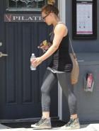 Hilary Duff spandex