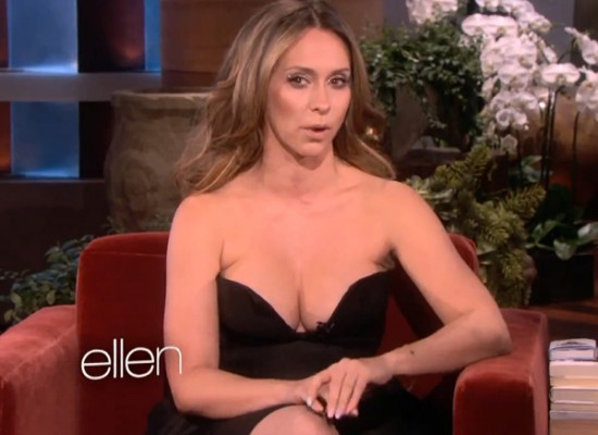 Jennifer Love Hewitt cleavage ellen