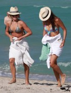 Julianne Hough and Nina Dobrev bikini