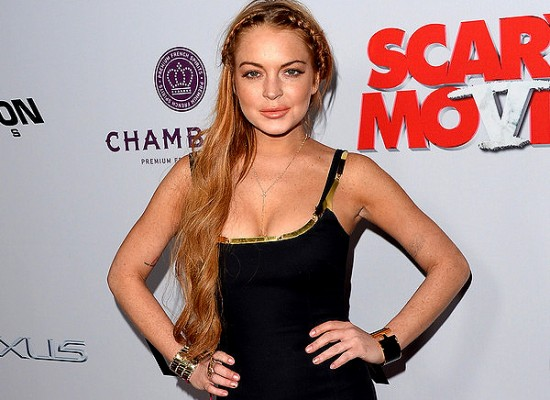 Lindsay Lohan scary movie