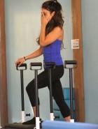 Vanessa Hudgens pilates class