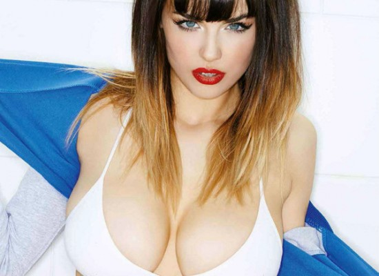 Danielle Sharp topless nuts