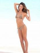 Lily Aldridge bikini