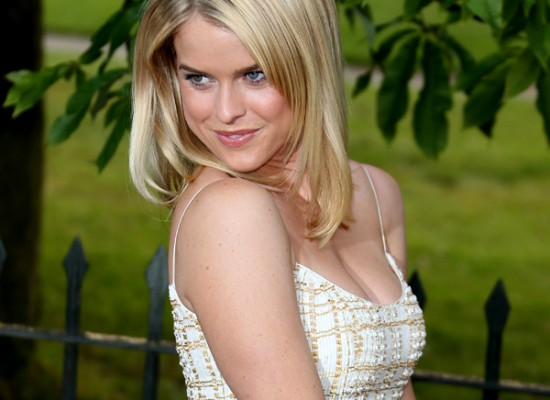 Alice Eve cleavage summer