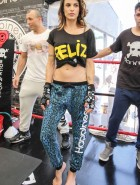 Elisabetta Canalis self defense