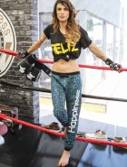 Elisabetta Canalis self defense