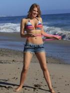 Maitland Ward bikini hula hoop