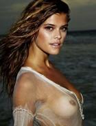 Nina Agdal nipples