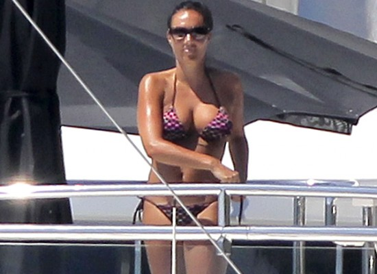 Tamara Ecclestone bikini honeymoon