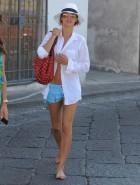 Elisabetta Canalis bikini top