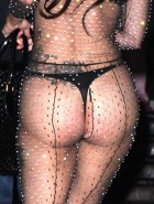 Lady Gaga see through