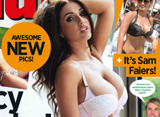 Lucy Pinder nuts 2013