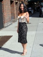 Olivia Munn cleavage for Letterman