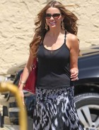 Sofia Vergara see through top