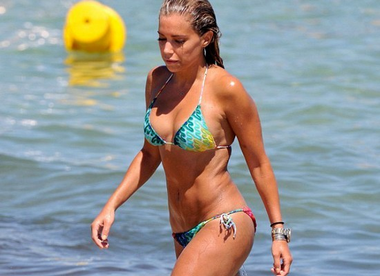 Sylvie Van Der Vaart bikini