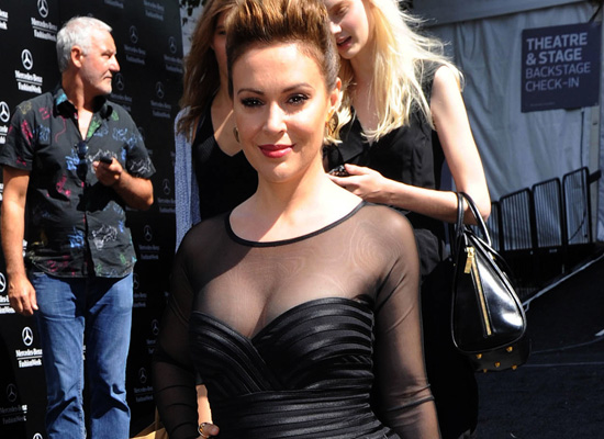 Alyssa Milano Nipple Slip Charmed Big Breasts Nude Picture Filmvz