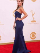 Maria Menounos cleavage at 65th Annual Emmy Awards