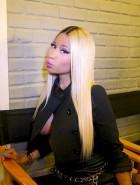 Nicki Minaj sideboob