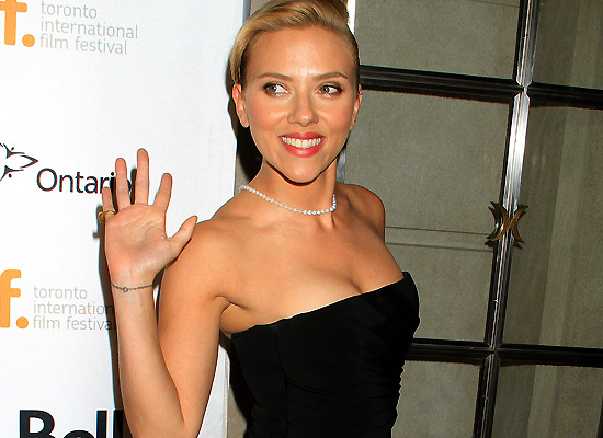 Scarlett Johansson at Torontof International Film Festival