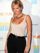 Aisleyne Horgan-Wallace see through top