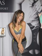 Alessandra Ambrosio Victoria's Secret sports bra