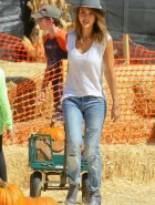 Jessica Alba jeans at Pumpkin Patch