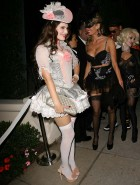 Kelly Brook Halloween upskirt