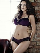 Kelly Brook 'New Look' Lingerie