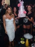 Kim Kardashian birthday cleavage