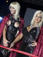 Micaela Schaefer boobs at Erotic Trade Fair