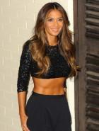 Nicole Scherzinger belly