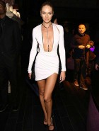 Candice Swanepoel Victoria's Secret Fashion after party