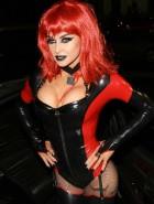 Carmen Electra devil Halloween costume