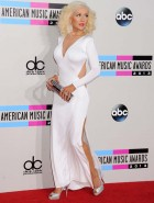 Christina Aguilera hot at AMA's