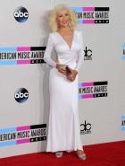 Christina Aguilera hot at AMA's