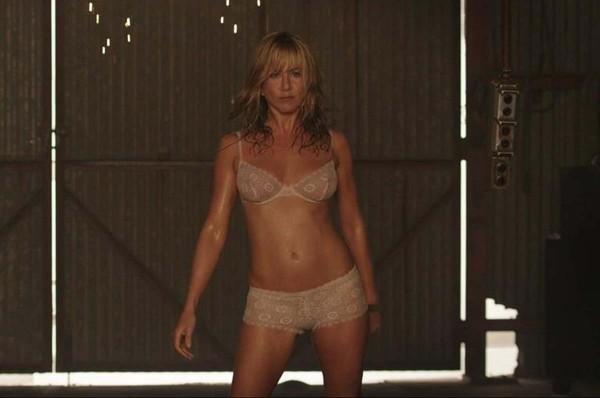 Jennifer aniston see through lingerie