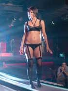 Jennifer Aniston see-thru lingerie in 'We're The Millers'