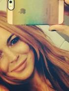 Lindsay Lohan topless Instagram