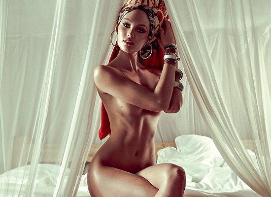 Candice Swanepoel Nude For Vogue Brazil