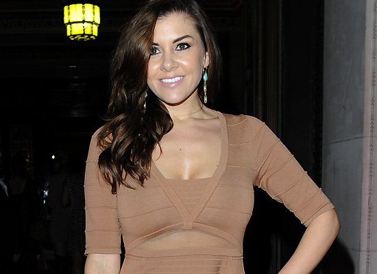 Imogen Thomas UK Lingerie Awards