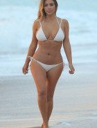 Kim Kardashian bikini for People Magazine