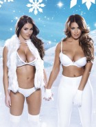 Lucy Pinder and Friends Nuts Xmas issue